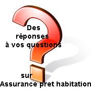 réponse assurance pret habitation